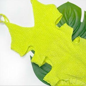 HERA • neon one piece swimsuit